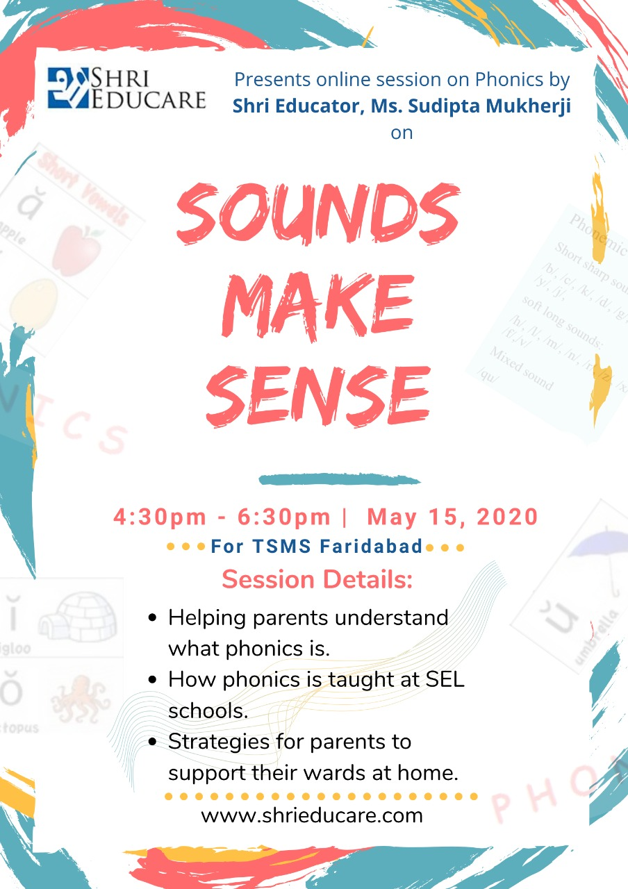 Online session on phonics - Sounds Make Sense