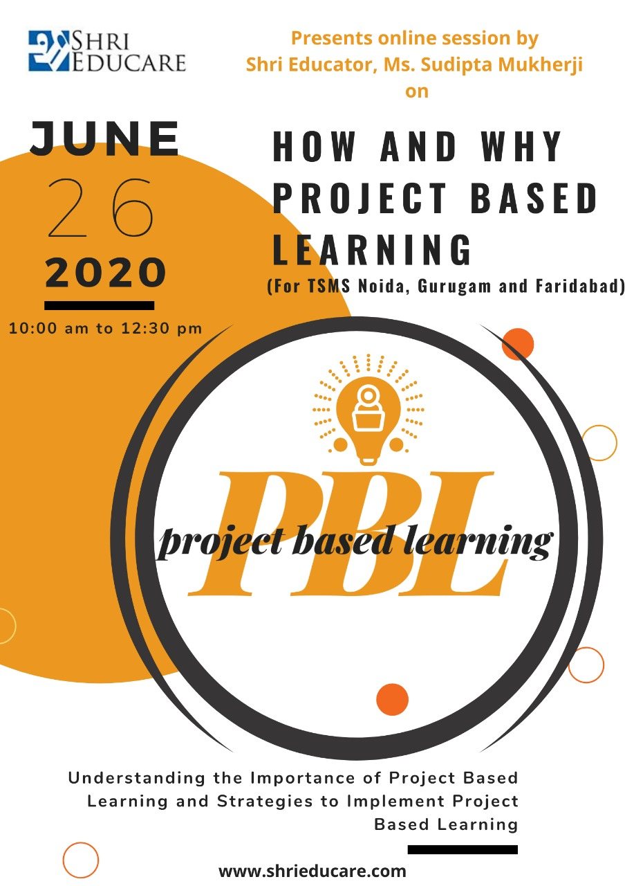 Online session on how and why project based learning