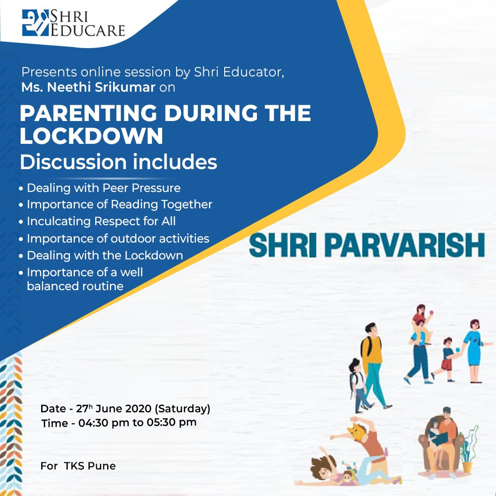 Online session on Positive Parenting