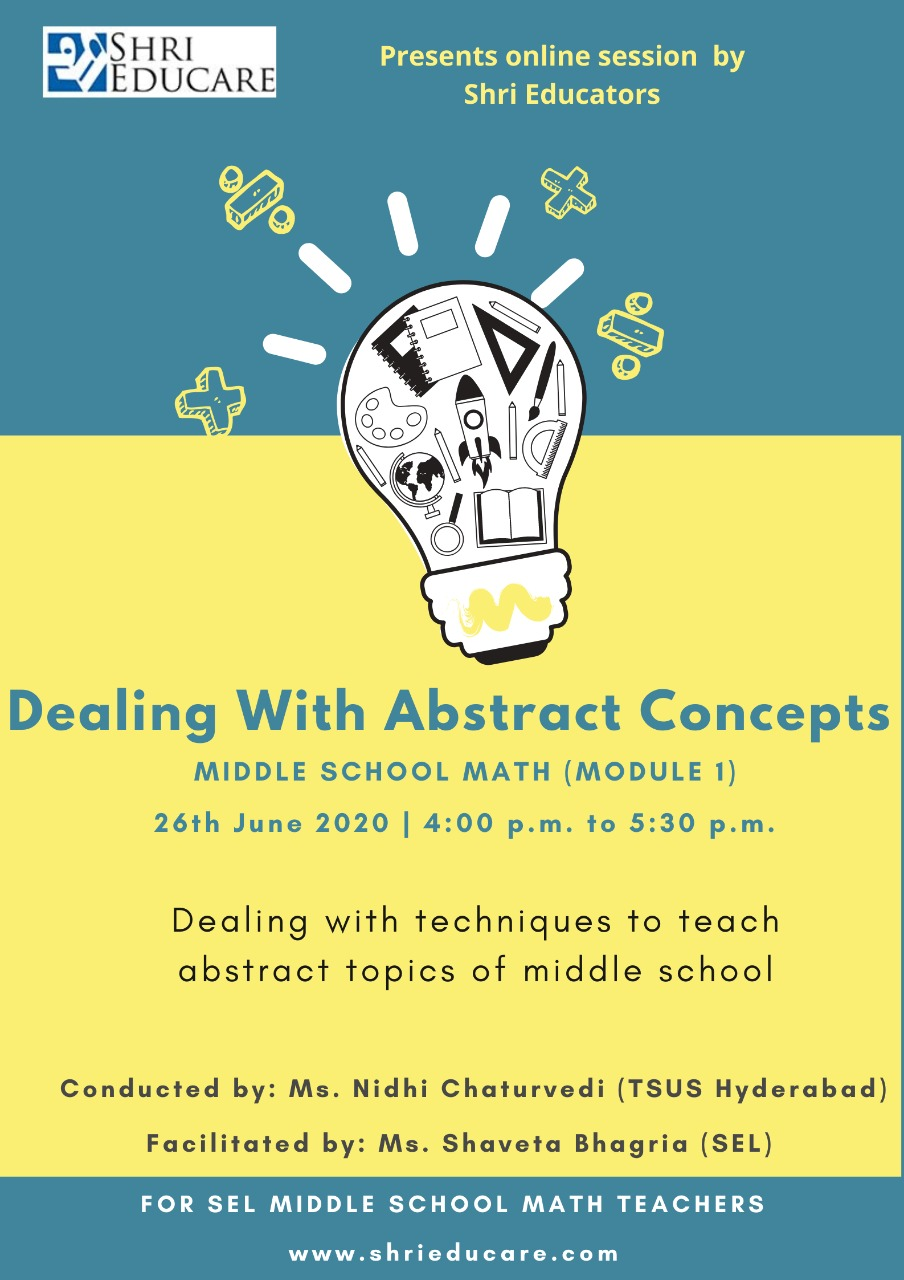 Online session on dealing with abstract concepts