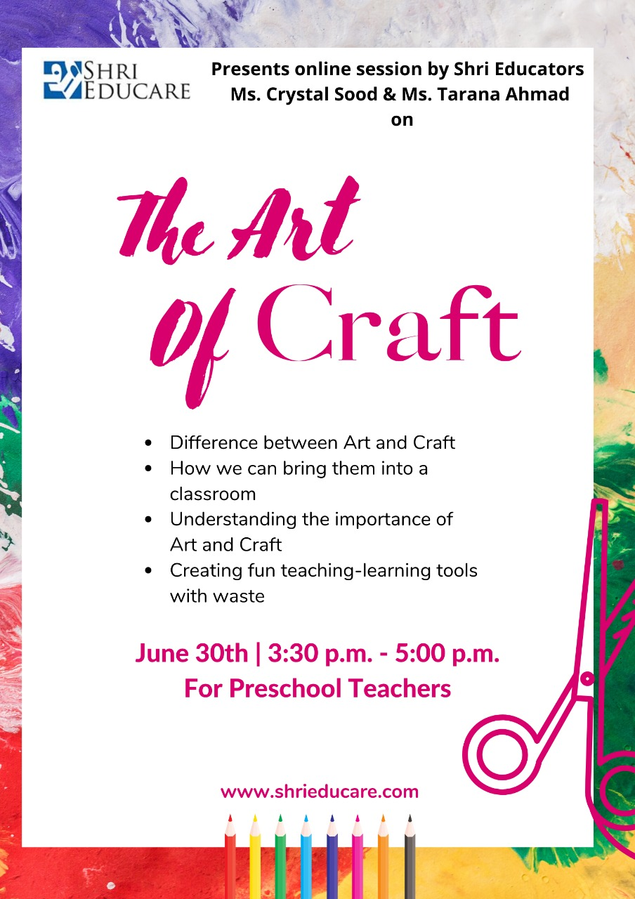 Online session on the art of craft