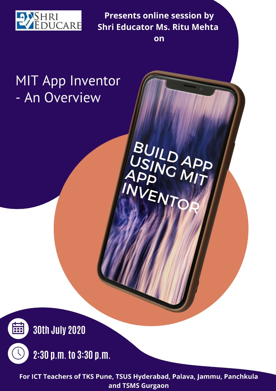 Online session on MIT Inventor