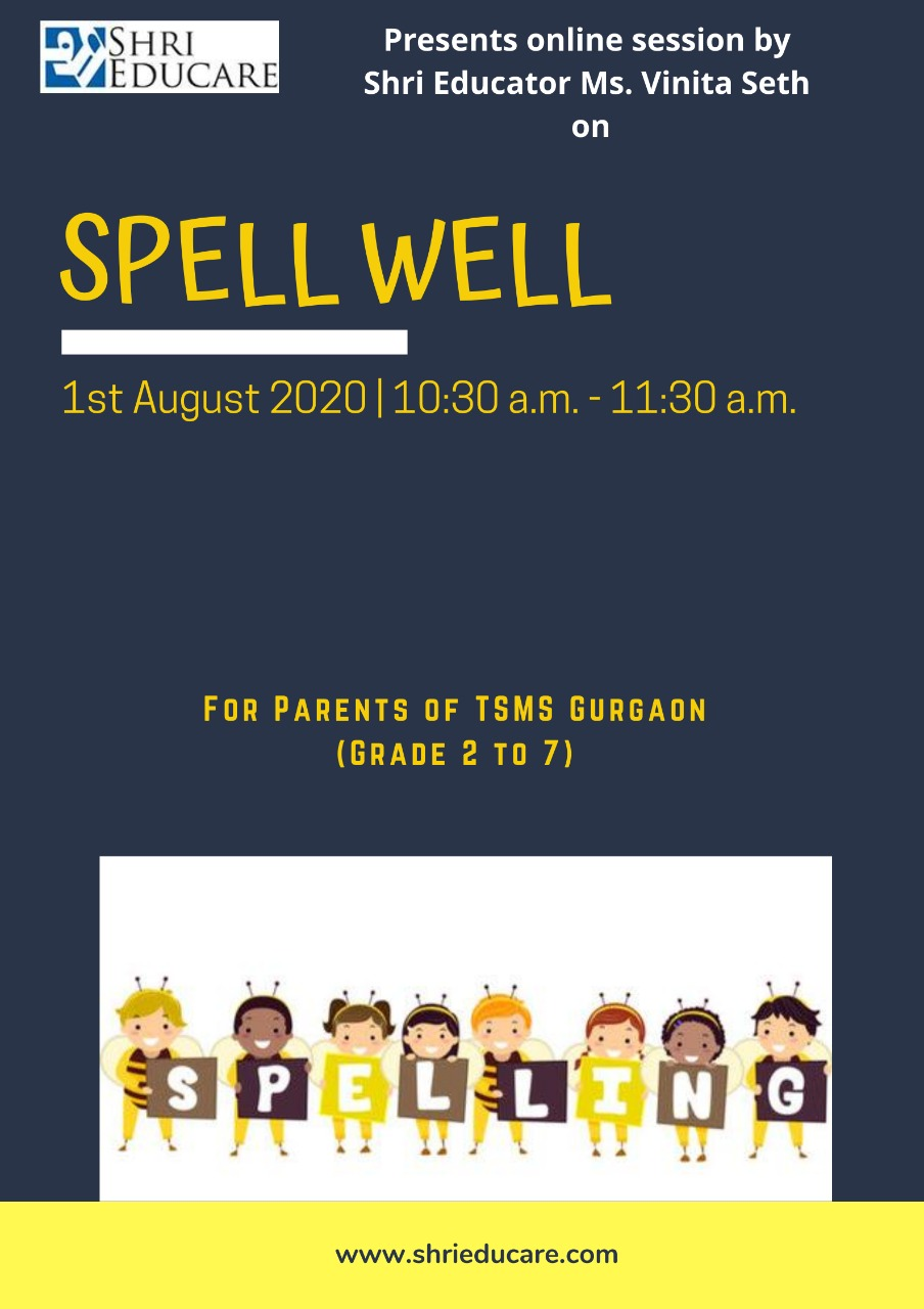 Online session on spell well