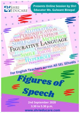 An online session on figures of speech