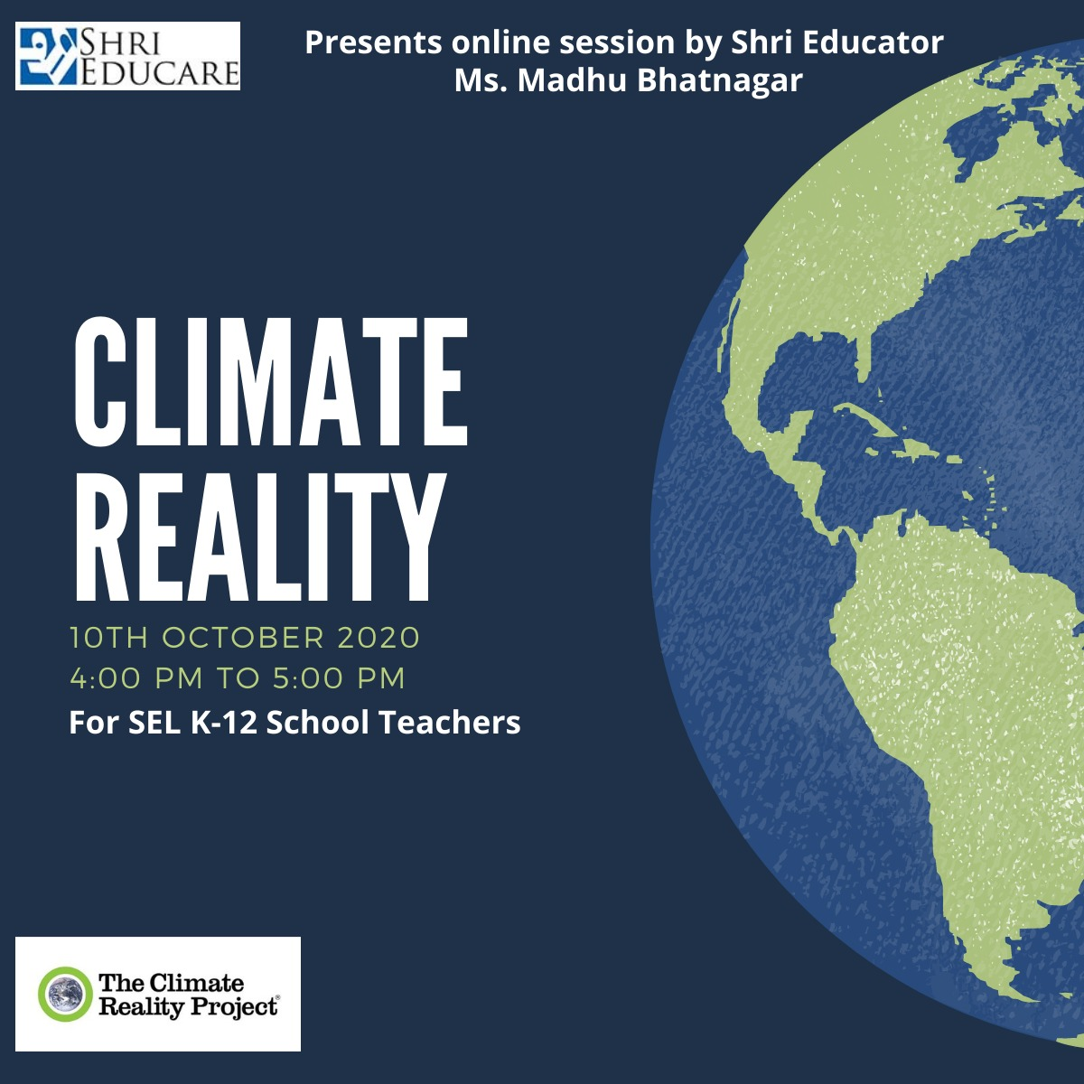 Online session on climate reality